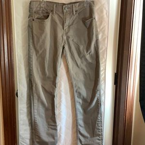 Levi 511 khaki pants 32x32